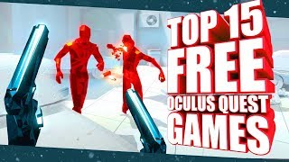 Top 15 Free Ocขlus Quest Games, Demos & Experiences You Must Play!