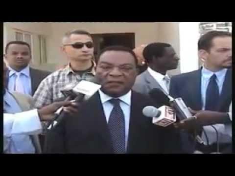 UN Ambassador Augustine Mahiga Somaliland visit