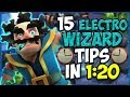 15 QUICK Tips About: Electro Wizard⚡