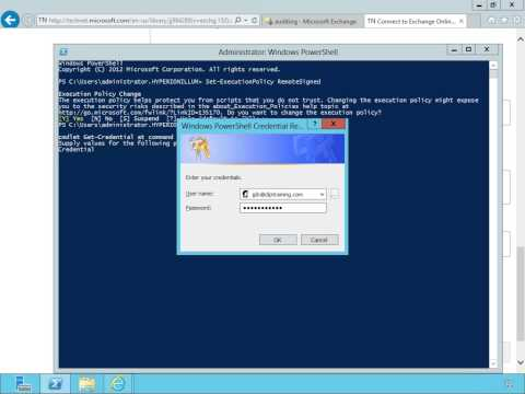 Connect To Exchange Online Using Remote PowerShell