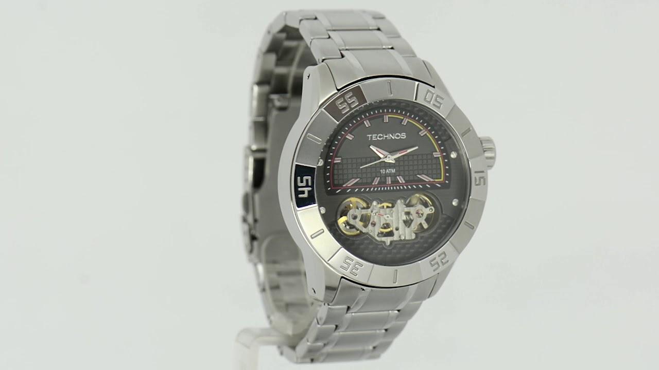 05f755cf6da8c Relógio Technos Masculino Lendas do Podium 2039AQ 1P - Eclock - YouTube