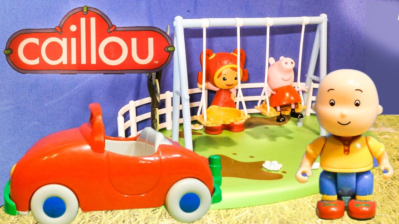 CAILLOU The Caillou Juegos Car A Caillou Video Toy with ... - photo#7