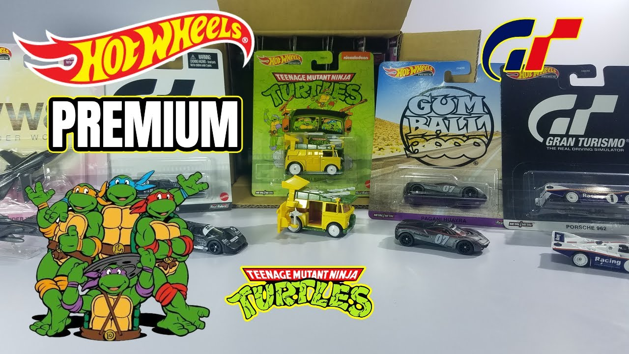 WOW LLEGÓ POR FIN LA PARTY WAGON DE LAS TORTUGAS NINJA 🍕🍕  HOT WHEELS PREMIUM MIX 4