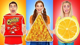 Desafío de comida geométrica por Multi DO Challenge