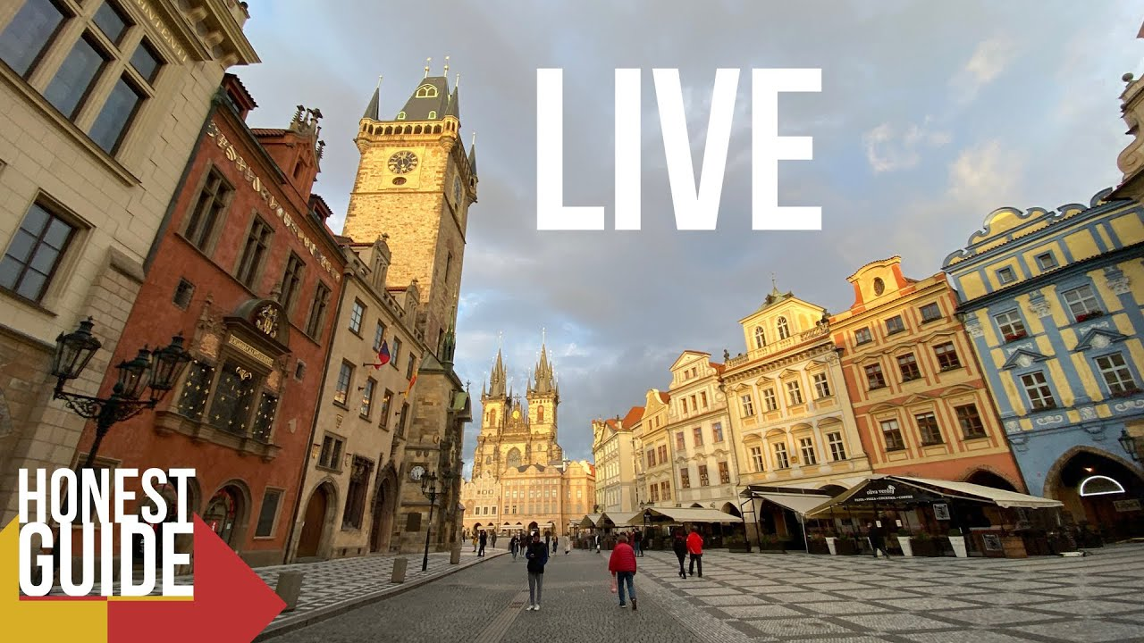 LIVE Honest Tour Through Prague + Free Beer