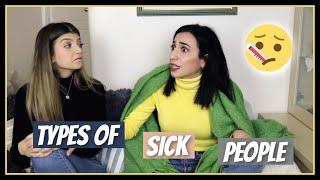 Τύποι ανθρώπων όταν είναι άρρωστοι || fraoules22