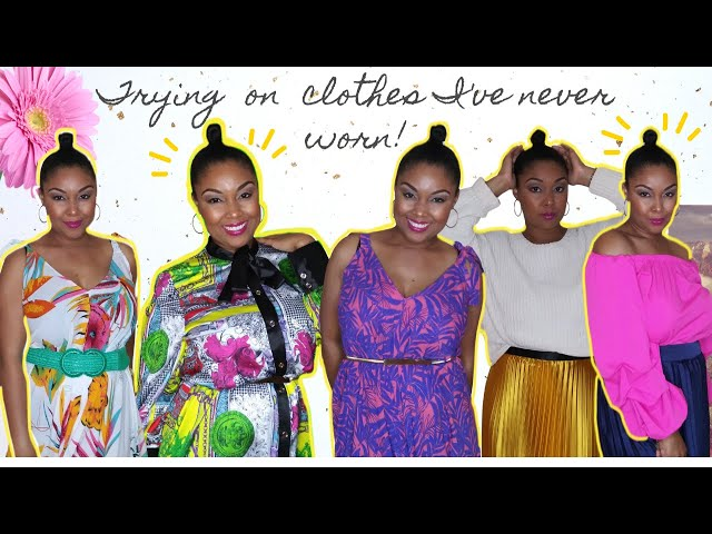 Watch Me Try On Clothes I've Never Worn | Shop My Closet | Clothing Haul | This Bahamian Gyal