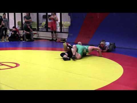 2015 Golden Bear Invitational: 82 kg Logan Burns vs. Andrew Johnson