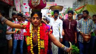 Rakesh Bonam Anna Dance  l Rakesh Bonam Amazing performance at Secunderabad Bonalu