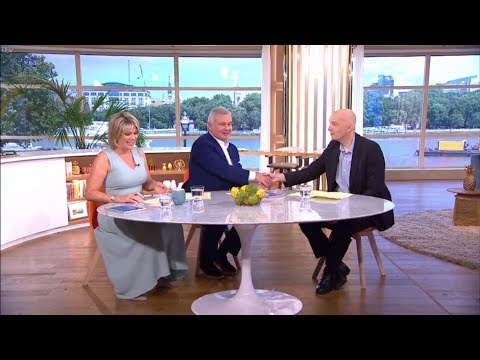 Ian Wallace on This Morning, 18-07-17