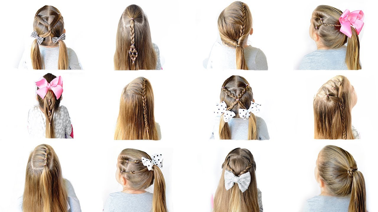 easy heatless school hairstyles