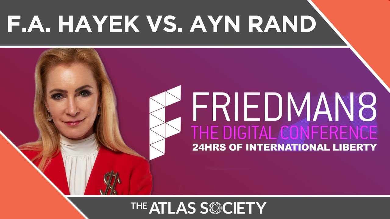Friedman 8 | F.A. Hayek vs. Ayn Rand Debate