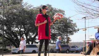 Gunjen Mittal of AFSSA VDAY Speech City Hall Austin Tx