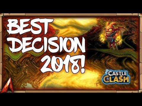 BEST DECISION 2018!? Castle Clash