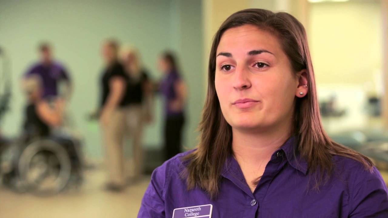 College for physical therapy - Physical Therapy At Nazareth College