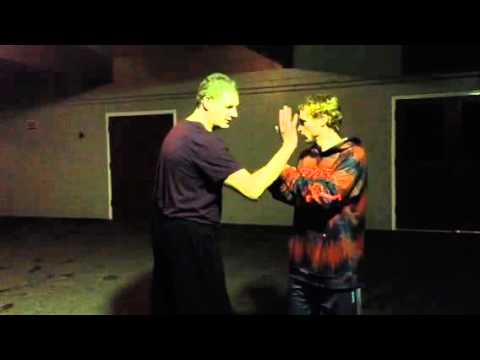 SelfDefence  Flat Palm Strike to the Face. Very Powerful Hit. KungFu