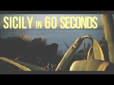 Sicily in 60 seconds || Canon 60D + Samyang 14mm T3.1