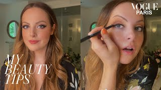 Elizabeth Gillies' Guide To Hollywood Glamour & Perfect Eyeliner | My Beauty Tips | Vogue Paris