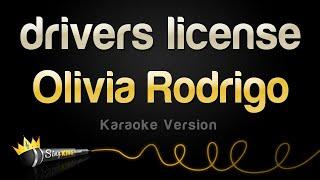 Olivia Rodrigo - drivers license (Karaoke Version)