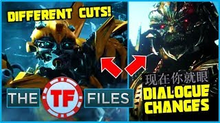 Audiences Have Seen TWO DIFFERENT Cuts of Transformers The Last Knight - The TF Files