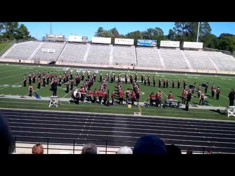 Arp High School Band 2013 UIL Marching Contest Longview, TX