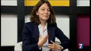 """La escritora Mercedes de Vega presenta su nueva novela """"Cuando estábamos vivos"""" en Tele7"""