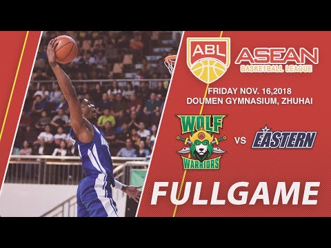 Wolf Warriors vs Hong Kong Eastern Basketball Team | FULL GAME | 2018-2019 ASEAN Basketball League