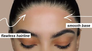 HOW TO GET A PERFECT HAIRLINE