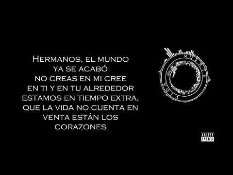 Canserbero - El mundo ya se acabó - Letra (Street Lyrics)