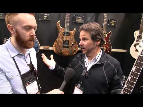 NAMM 2015: Knaggs Guitars Steve Stevens Models and Joe Knaggs Interview - AMPED