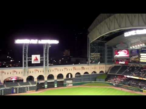Minute Maid Park Roof Opening