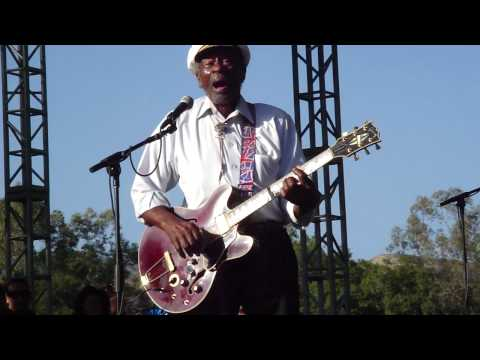 "Chuck Berry ""My Ding-A-Ling"" @ Hootenanny 2010"