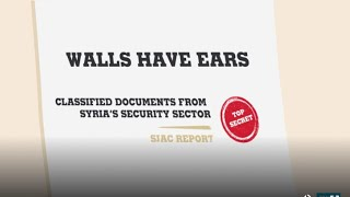 Thousands of smuggled documents expose Syria39s shady security agencies