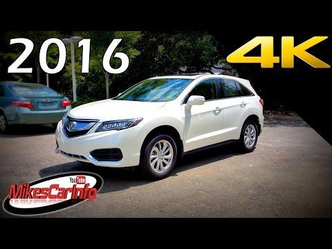2016 Acura RDX - Ultimate In-Depth Look in 4K