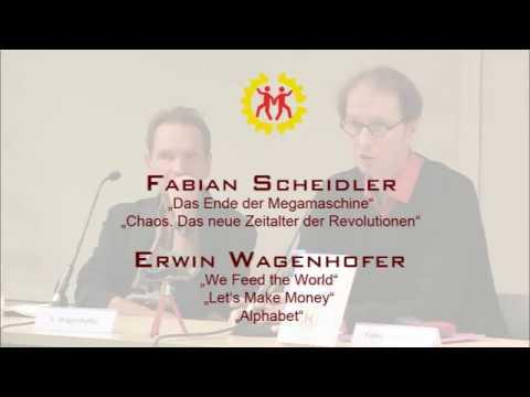 Fabian Scheidler und Erwin Wagenhofer in Wien: Chaos. Das neue Zeitalter der Revolutionen