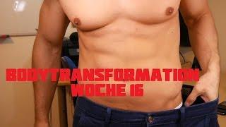 Woche 16 meiner Body Transformation mit Freeletics und Lifesum | 4K