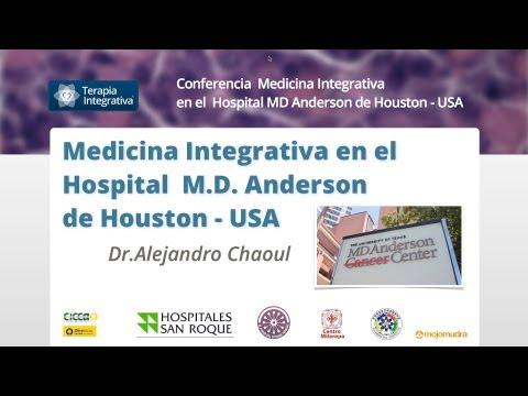 Medicina Integrativa Hospital MD Anderson USA   Alejandro Chaoul