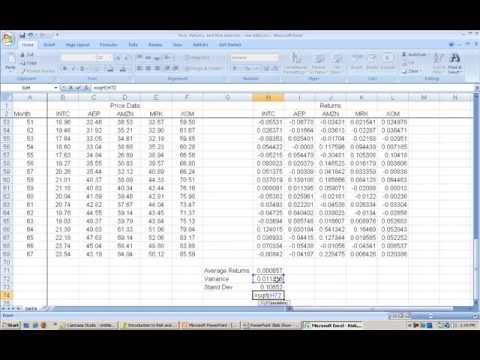 PT L9 Returns Risk And Risk Aversion