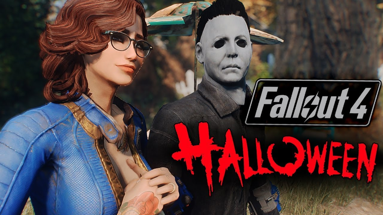 Fallout 4 Halloween 2020 Fallout 4   HALLOWEEN SPECIAL Ft. MICHAEL MYERS   Halloween Xbox