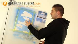 How to Airbrush Clouds. On steroids.