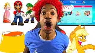 CRAZIEST NINTENDO SWITCH LEAK EVER!!! MARIO & RABBIDS KINGDOM BATTLE DETAILS!!!