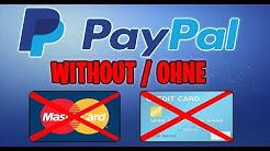 Paypal Konto Ohne Kreditkarte/Bankdaten erstellen!