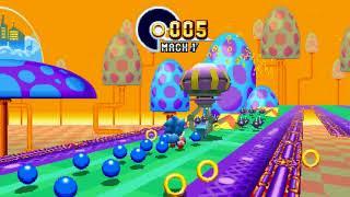 Sonic Mania - All Emeralds Sonic + Tails Speedrun in 56:16