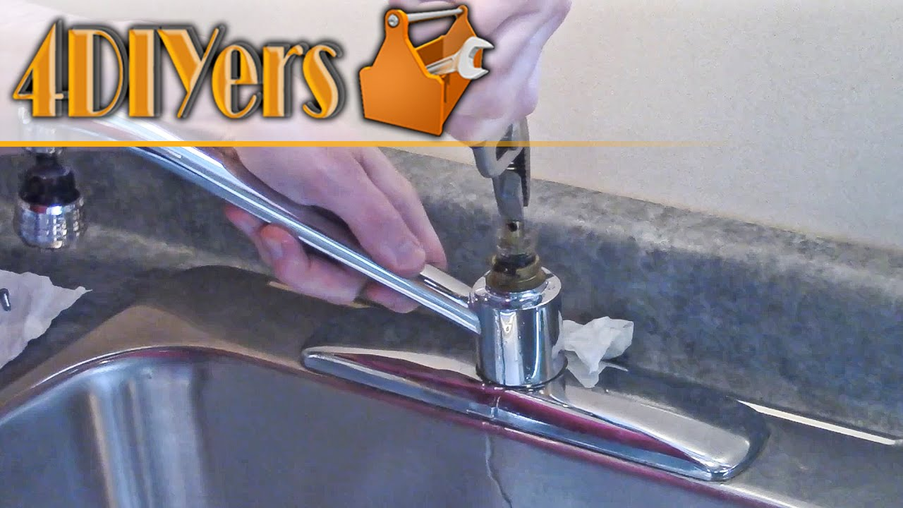 diy moen faucet cartridge replacement and disassembly