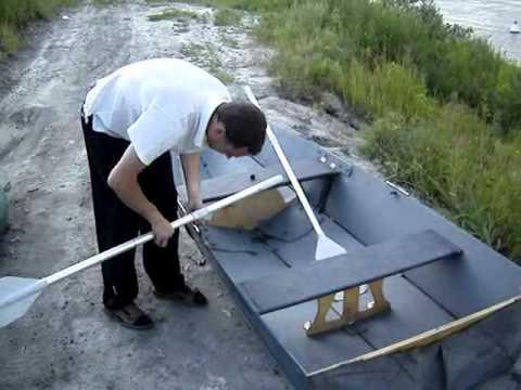 как сделать алюминиевую складную лодку