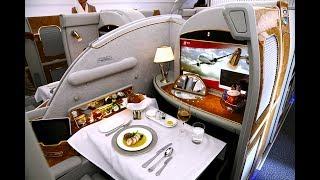 Business Class Upgrade Emirates Airline - NYC-DXB