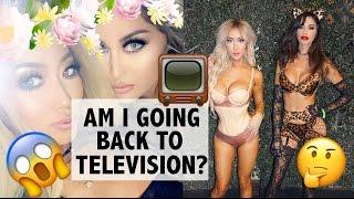 back to television glamlife vlog   arika sato