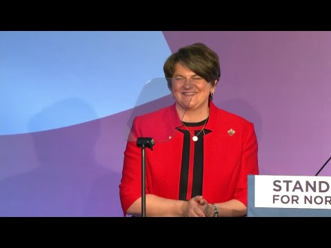 DUP Conference: Arlene Foster says Theresa May should 'get a better Brexit deal'