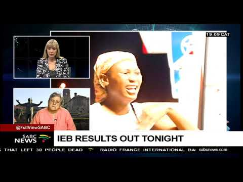 UPDATE: IEB Matric results release with Anne Oberholzer