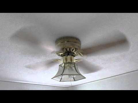 Ceiling fan wobble